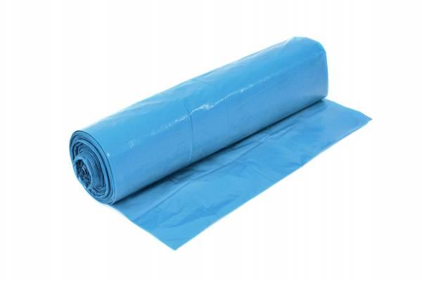 Funny Müllsäcke, blau, 120 Liter, 10 Rollen, Typ 80