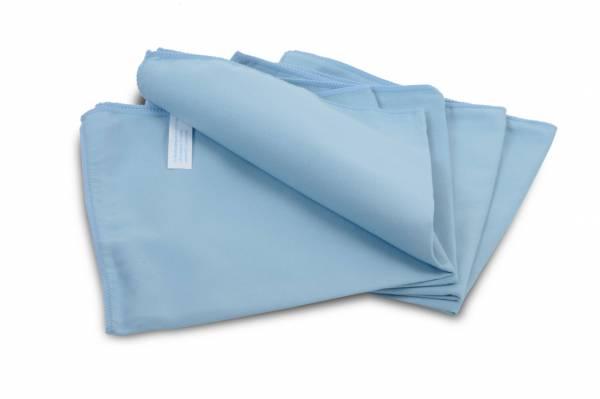 SemyTop Mikrofaser-Polier-Tuch, blau, 10x20 Stk