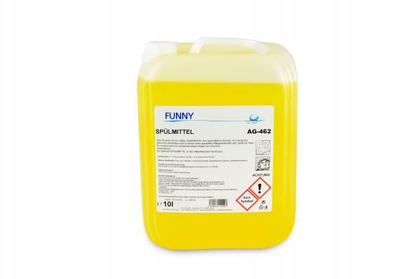 Funny Spülmittel, hautmild, streifenfrei, 10 Liter