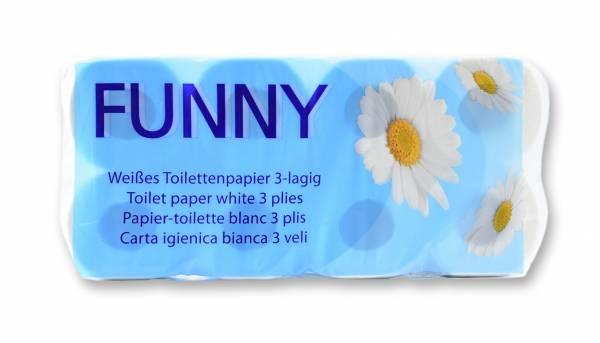 Motivgeprägtes Toilettenpapier, 150 Blatt, 3 Lagen