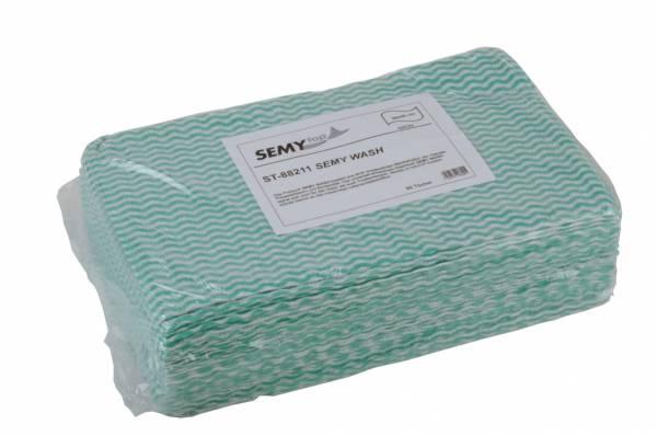 SemyTop Wash Putztuch, grün, 6x50 Stk