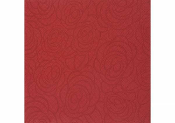 SemyTop Airlaid Motivserviette Roses, bordeaux