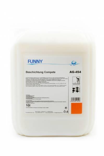 Funny Beschichtung Compete, Langzeitpflege, 10 Liter
