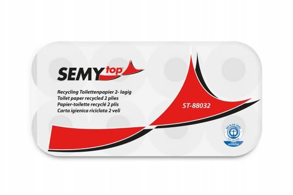 SemyTop umweltfreundliches Toilettenpapier, 2-lagig