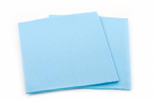 Funny Schwamm-Spültuch, blau, 5 Stk