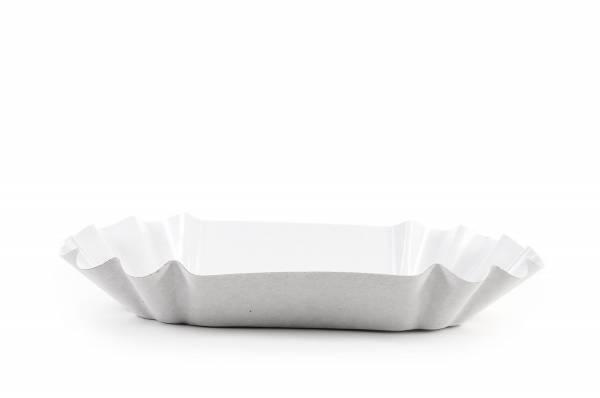 SemyTop Pappschale, rechteckig, beschichtet, 1000 Stück