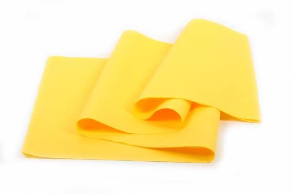 SemyTop Airlaid Tischtuchrollen, gelb