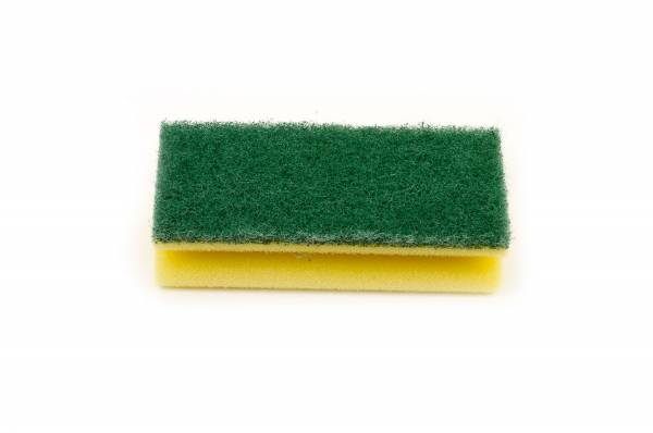 Funny Griffschwamm, gelb-grün, 10 Stk