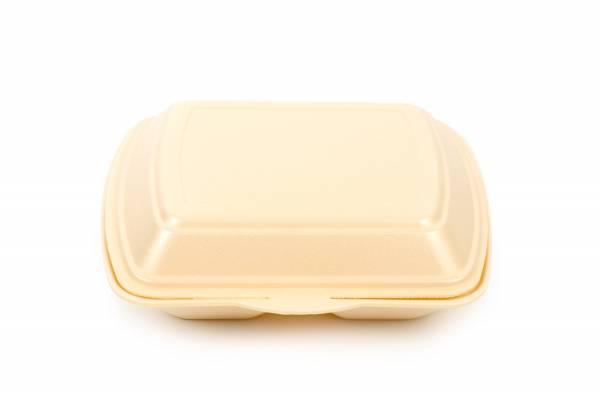 Funny Menübox, 2-teilig, beige, geschäumt, 200 Stk