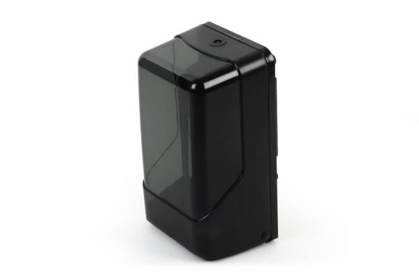 Quicky Toilettenpapier-Spender, Einzelblatt Toilettenpapier, Kunststoff, schwarz