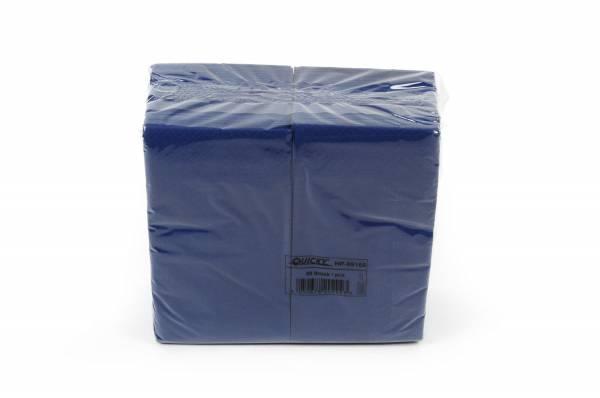 Quicky Farbige Tafelserviette 33 x 33 cm, blau