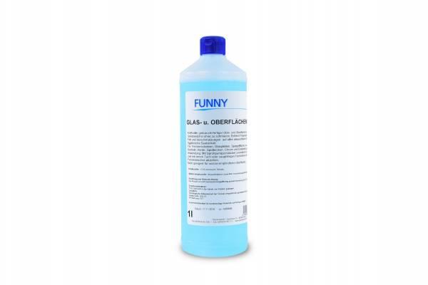 Funny Glas- und Oberflächenreiniger, 1 Liter