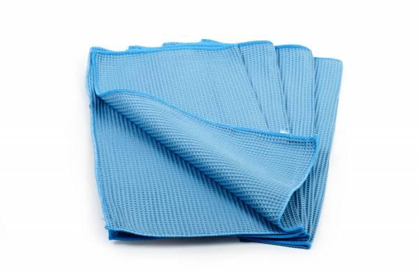 SemyTop Mikrofaser-Waffeltuch, blau, 10x20Stk