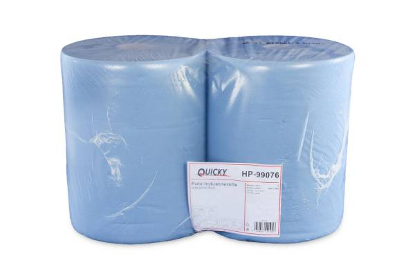 Quicky Putzpapier-Rolle, 2-lagig, Recycling, 2 Rollen