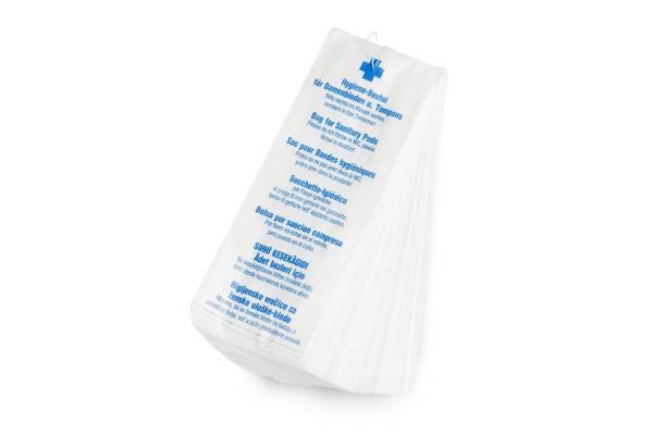 Funny Papier Hygienebeutel, 7-sprachig bedruckt, 1000 Stück