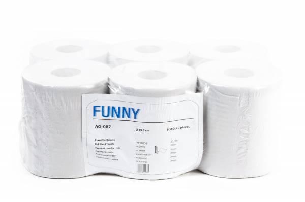 Funny Handtuchrolle MIDI, Recycling, 6 Rollen