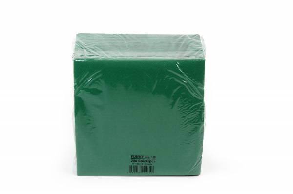 Funny Farbige Tafelserviette, 40 x 40 cm, grün