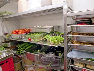Gastronomiebedarf in der Küche
