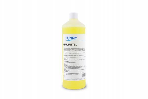 Funny Spülmittel, hautmild, streifenfrei, 1 Liter Flaschen