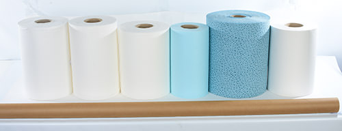 Handtücher und Papierrollen für Ihre Werkstatt