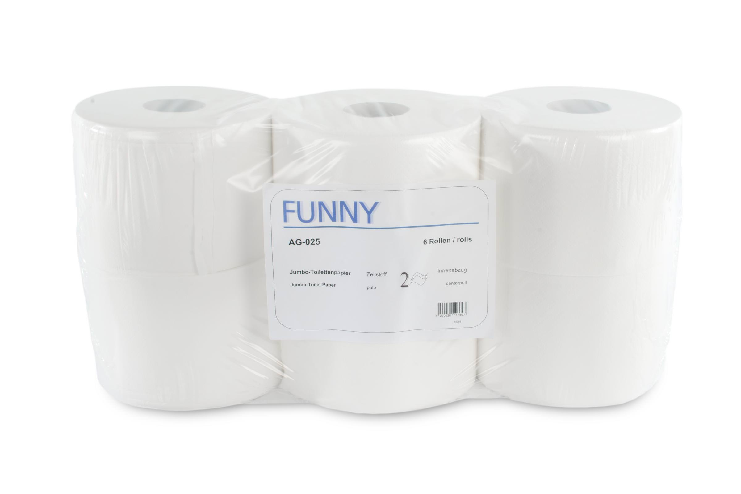 Klopapier Toilettenpapier Motiv Angela Merkel Bundeskanzlerin 2 Rollen