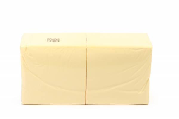 Funny Farbige Tafelserviette, 40 x 40 cm, creme