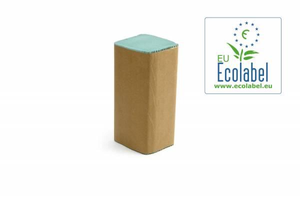 Funny Papierhandtücher 1-lagig ZZ/V-Falz 5000Blatt Grün eingefärbt