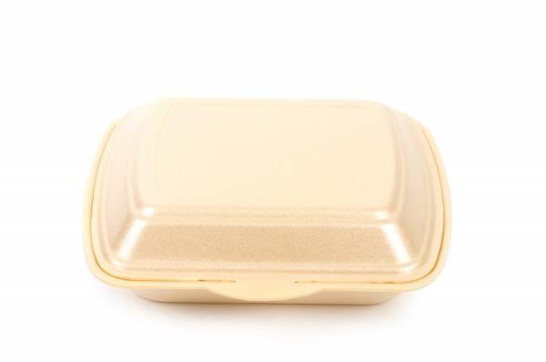 Funny Menübox, 3-teilig, beige, geschäumt, 200 Stk