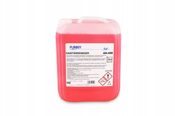 Funny Sanitärreiniger, 10 Liter, kalklösend