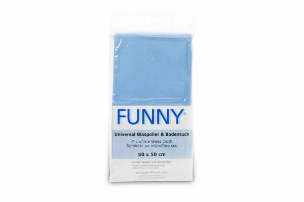 Funny Universal-Polier & Bodentuch, blau, 100 Stk