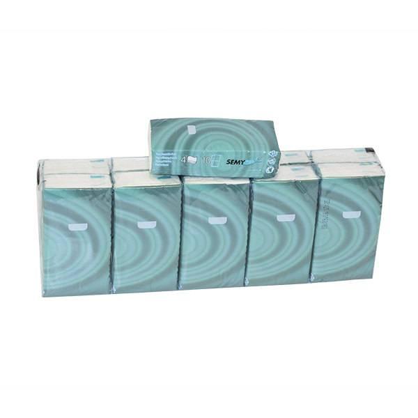 SemyCare Taschentücher, 4-lagig, hochweiß, Zellstoffpapier
