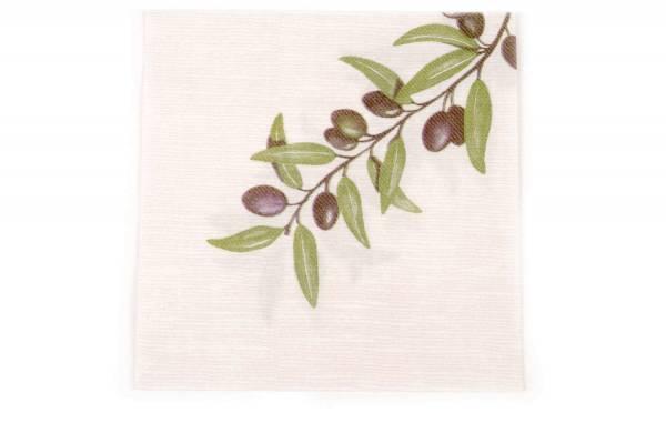 SemyTop Motivserviette Mediterranea Airlaid, olive
